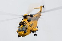 Sea King bowing out, RAF Cosford