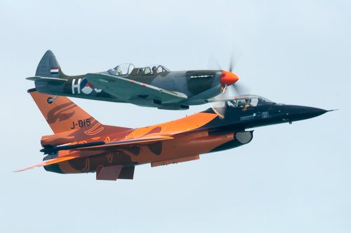 Spitfire and F-16