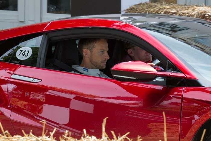 Jenson Button, Goodwood Festival of Speed 2016