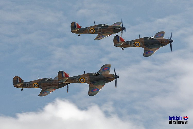 Hurricanes in the Battle of Britain Scene