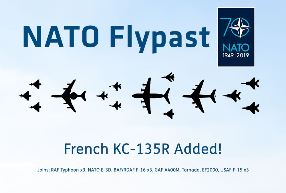 Nato Flypast on Friday & Saturday
