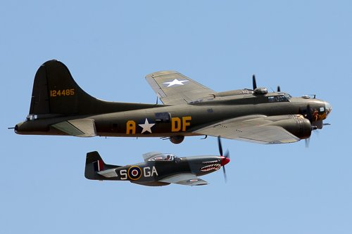 Sally B and Mustang
