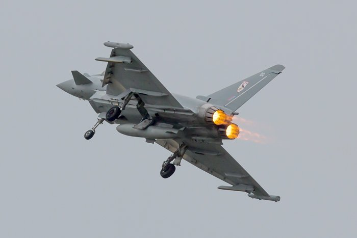 Typhoon on Sunday