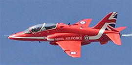 Red Arrows Tailfin 2015