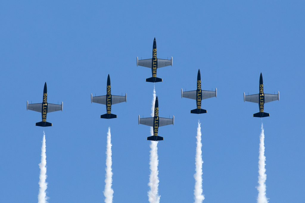 Breitling Jet Team at Bournemouth 2018
