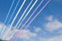 Red Arrows arrive over EastCliff