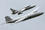 Midair Squadron's Canberra PR9 XH134 and Hunter XL577