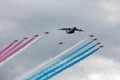 Red Arrows & Airbus A400M
