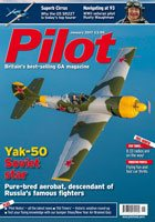 Pilot Magazine introductory offer